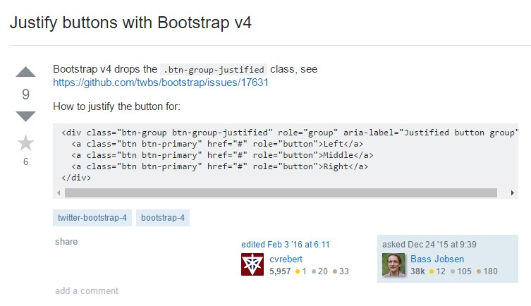 Sustain buttons  utilizing Bootstrap v4