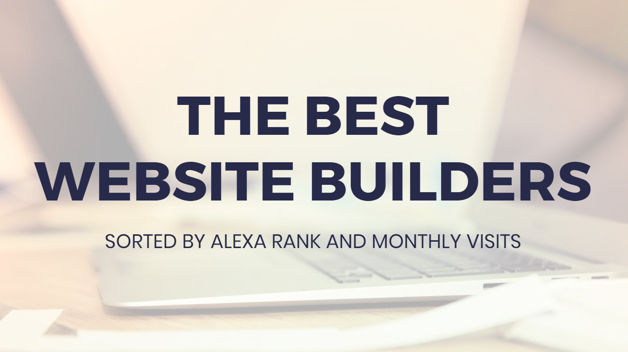 Most effective  Site Builders